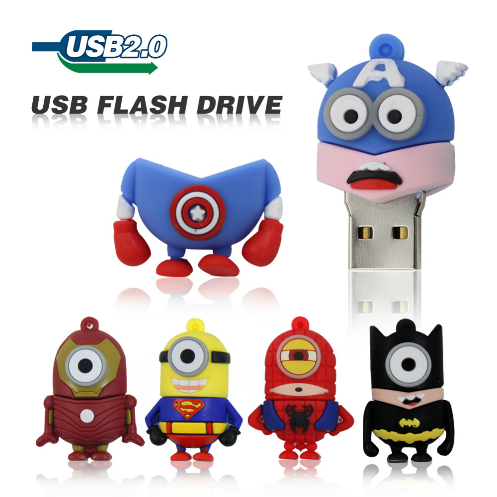the-font-b-minions-b-font-usb-flash-drive-16gb-8gb-4gb-pen-drive-the-avengers