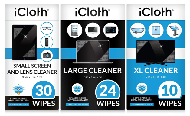 iCloth Wipes